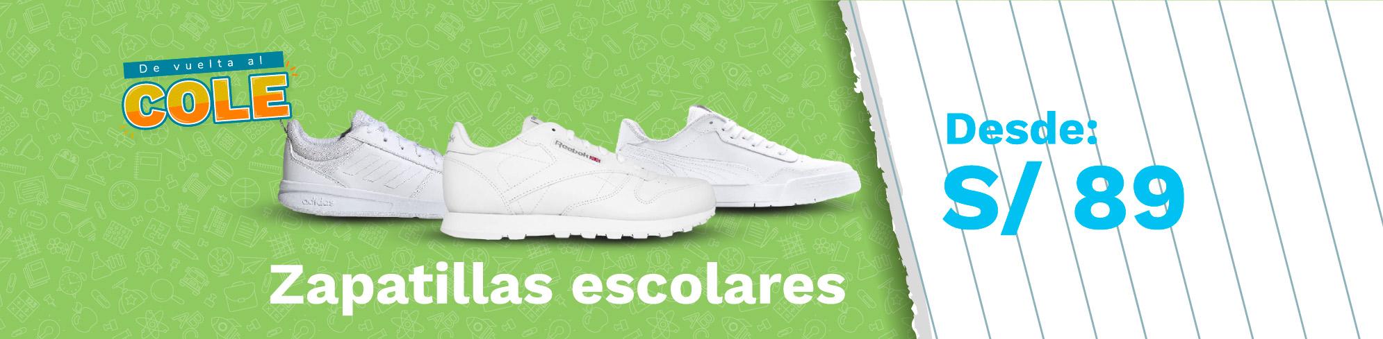 Banner Zapatillas Escolares