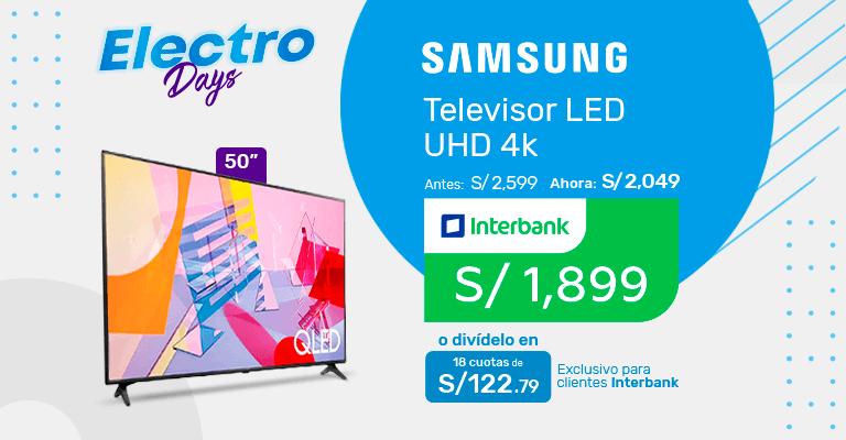 Banner TV Samsung
