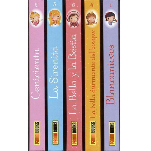 princesitas-coleccin-5-libros-la-bella-y-la-bestia-sirenita-cenicienta-blancanieves-bella-durmiente