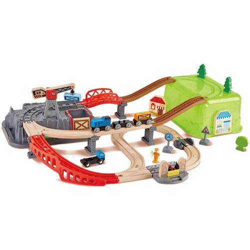 set-bloques-vias-de-construccion-ferrocarril-tren-alegria-juguetes