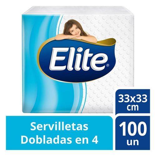 servilleta-elite-doblada-en-4-x-100-softys