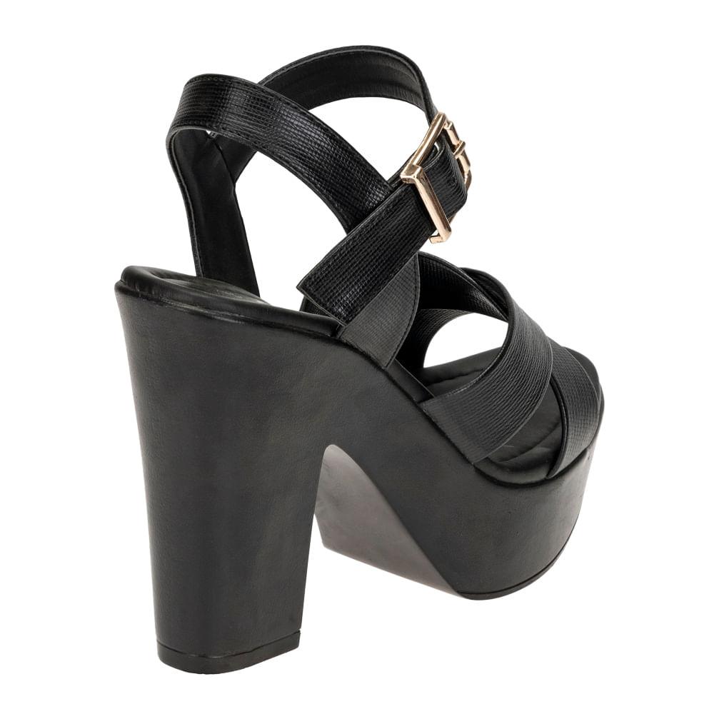 Sandalias Footloose FCH-SS09V20 Negro - Shopstar