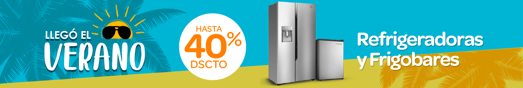 Banner  Refrigeradoras y Frigobares