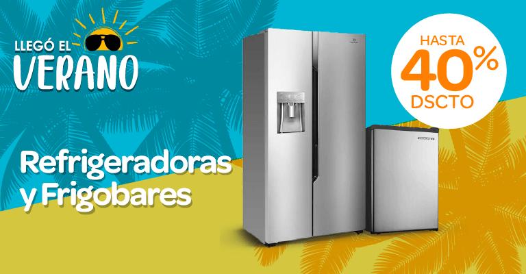 Banner  Refrigeradoras y Frigobares Mobile